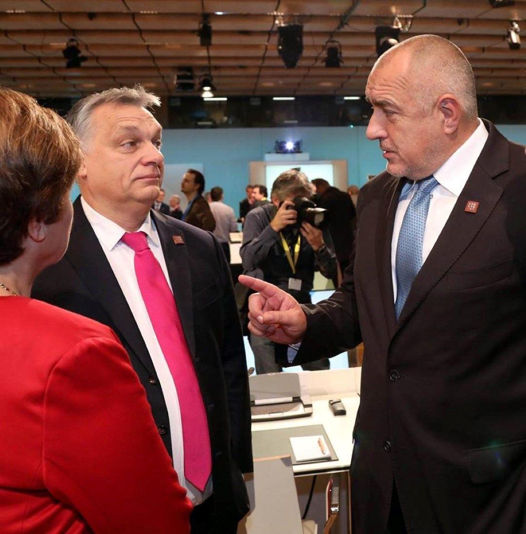 Премиерът разговаря с унгарския си колега Виктор Орбан