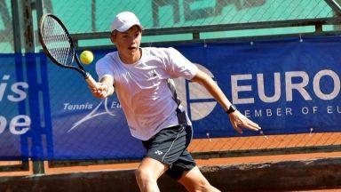 Български тенисист е №1 в Европа