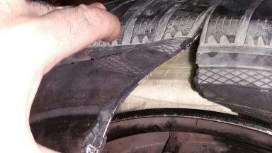 Хероин за близо 1 млн. лева в резервна гума откриха на МП Капитан Андреево