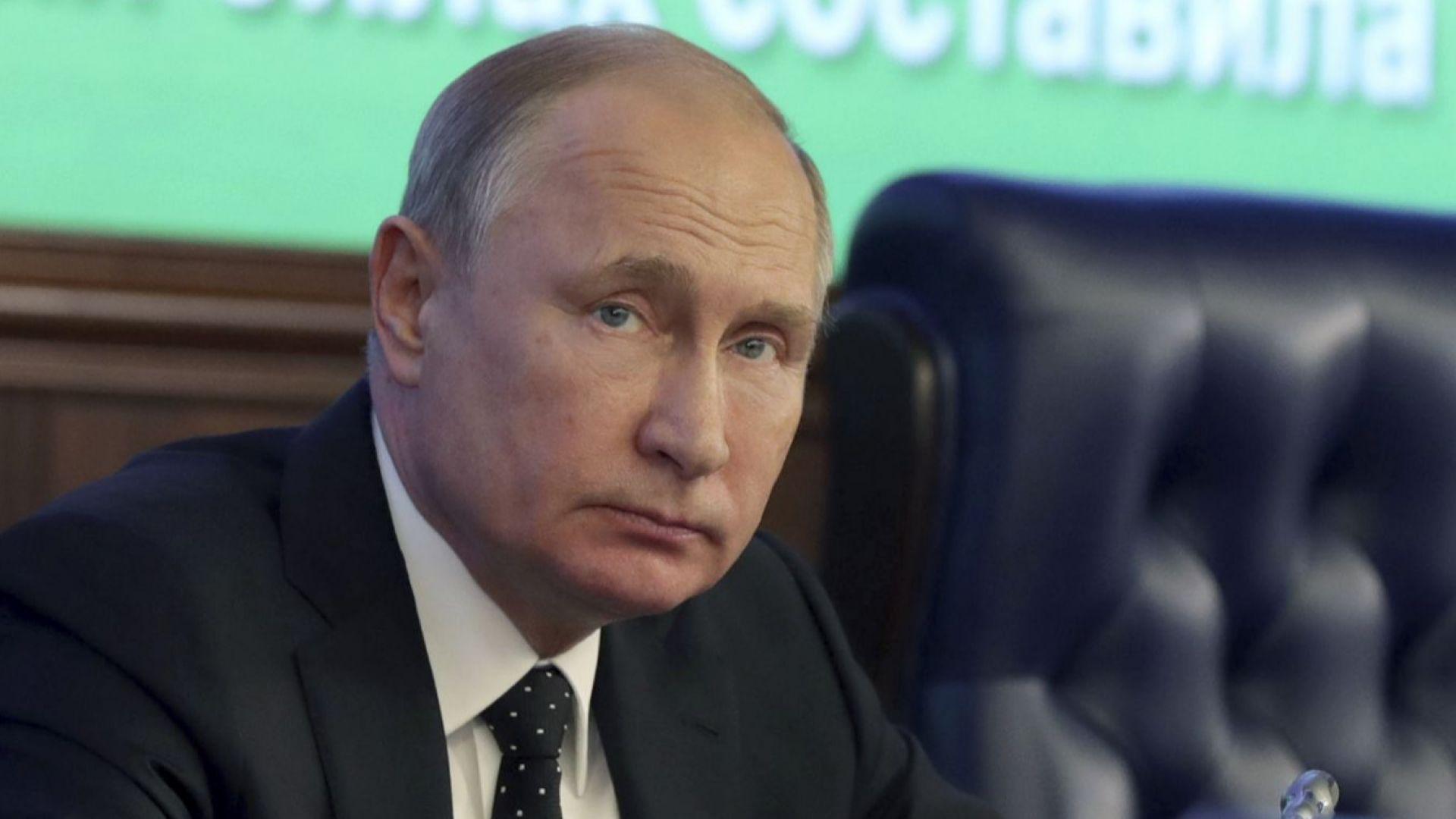 70 000 посрещат Путин в Белград
