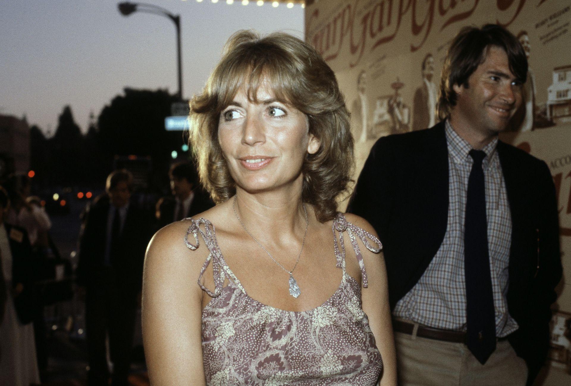 На тази снимка от 14 юли 1982 г. актрисата Пени Маршал е в Лос Анджелис