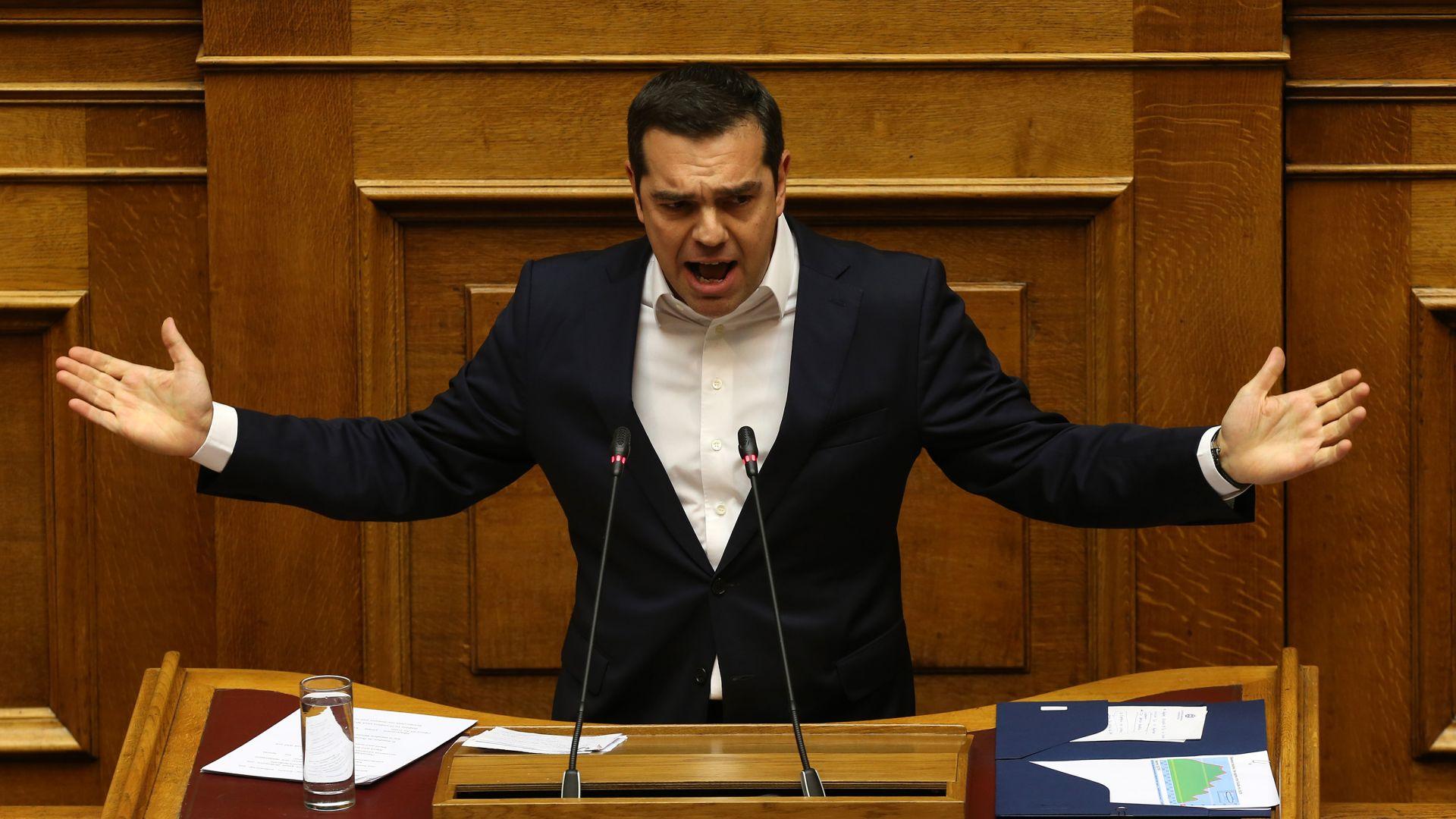 Гърция прие първия си бюджет без надзор от 4 г.