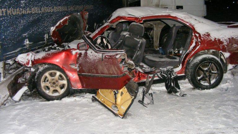 Двама души загинаха при жестока катастрофа на пътя Разград - Шумен