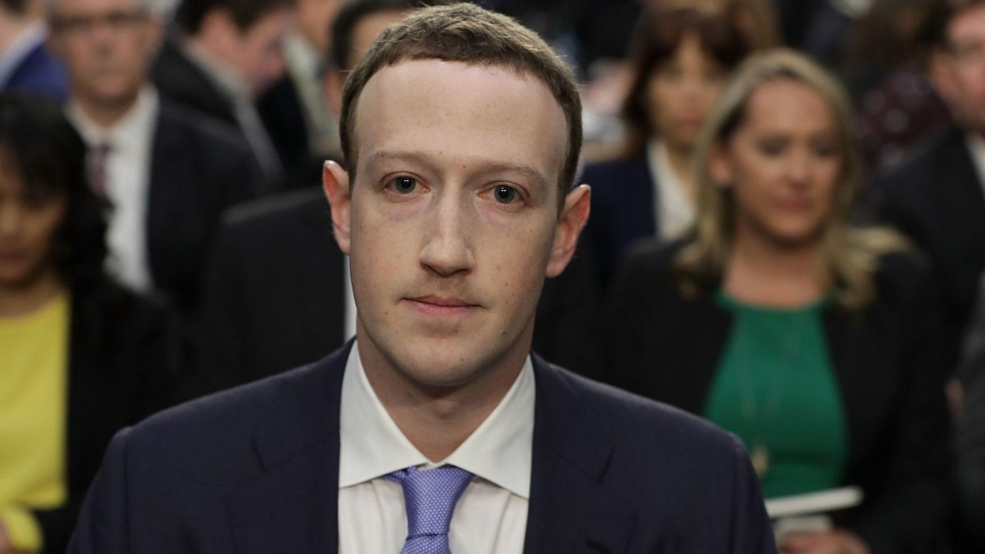 Зукърбърг се обяви против разделянето на Фейсбук