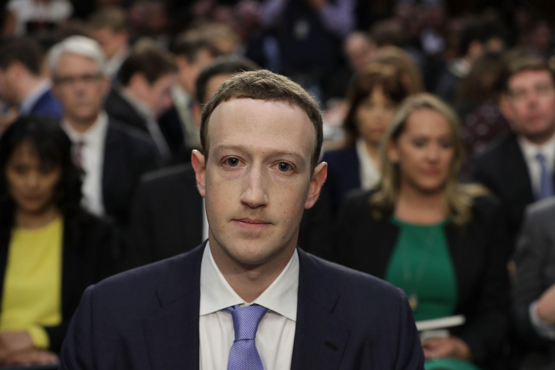 """На 10 април изпълнителният директор на Фейсбук Марк Зукърбърг отговаря на въпроси пред американския Конгрес по аферата с """"Кеймбридж Аналитика"""""""