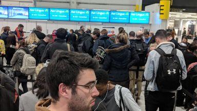 Временно затвориха летище Гeтуик заради дронове