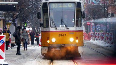 "Тръгнаха трамваите по ул. ""Граф Игнатиев"" (видео)"