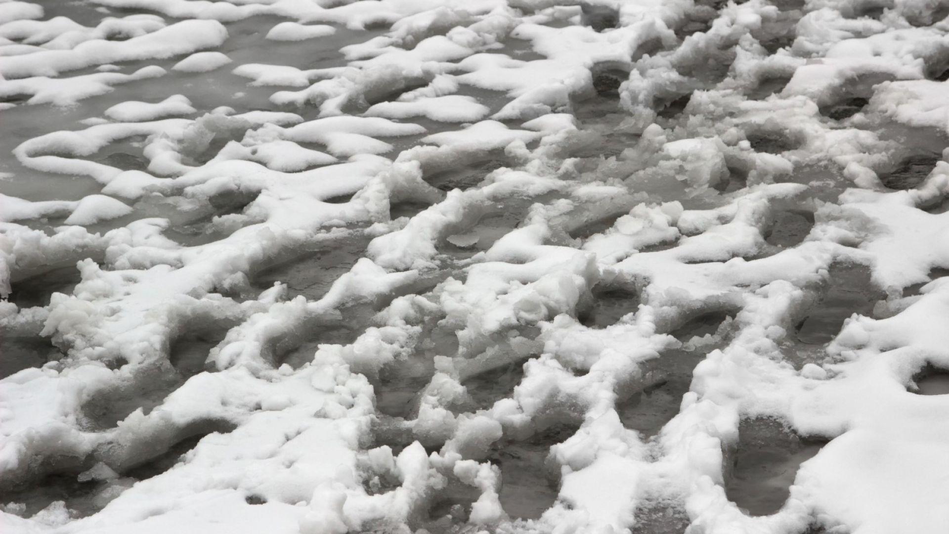 Сибирски кмет се извини за боядисан в бяло сняг