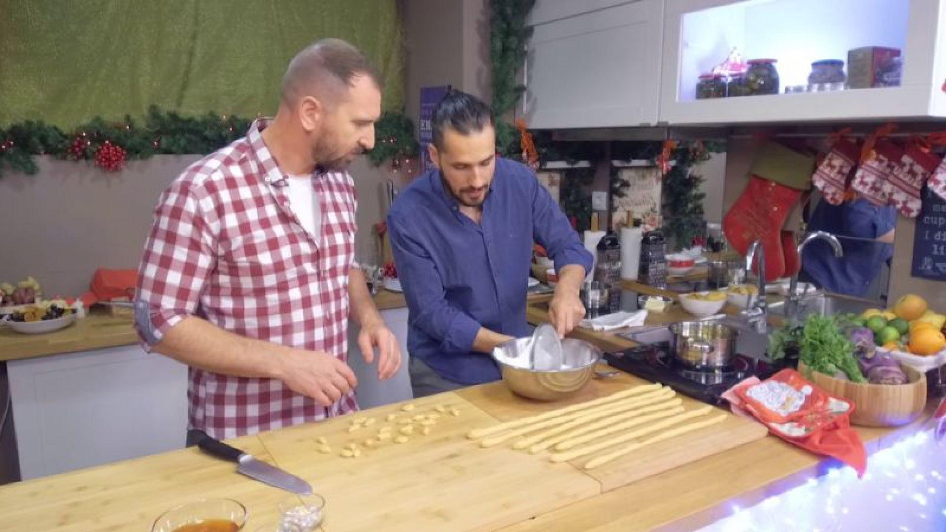 Андре Токев и Събин Ранков ще покажат мултинационални коледни рецепти