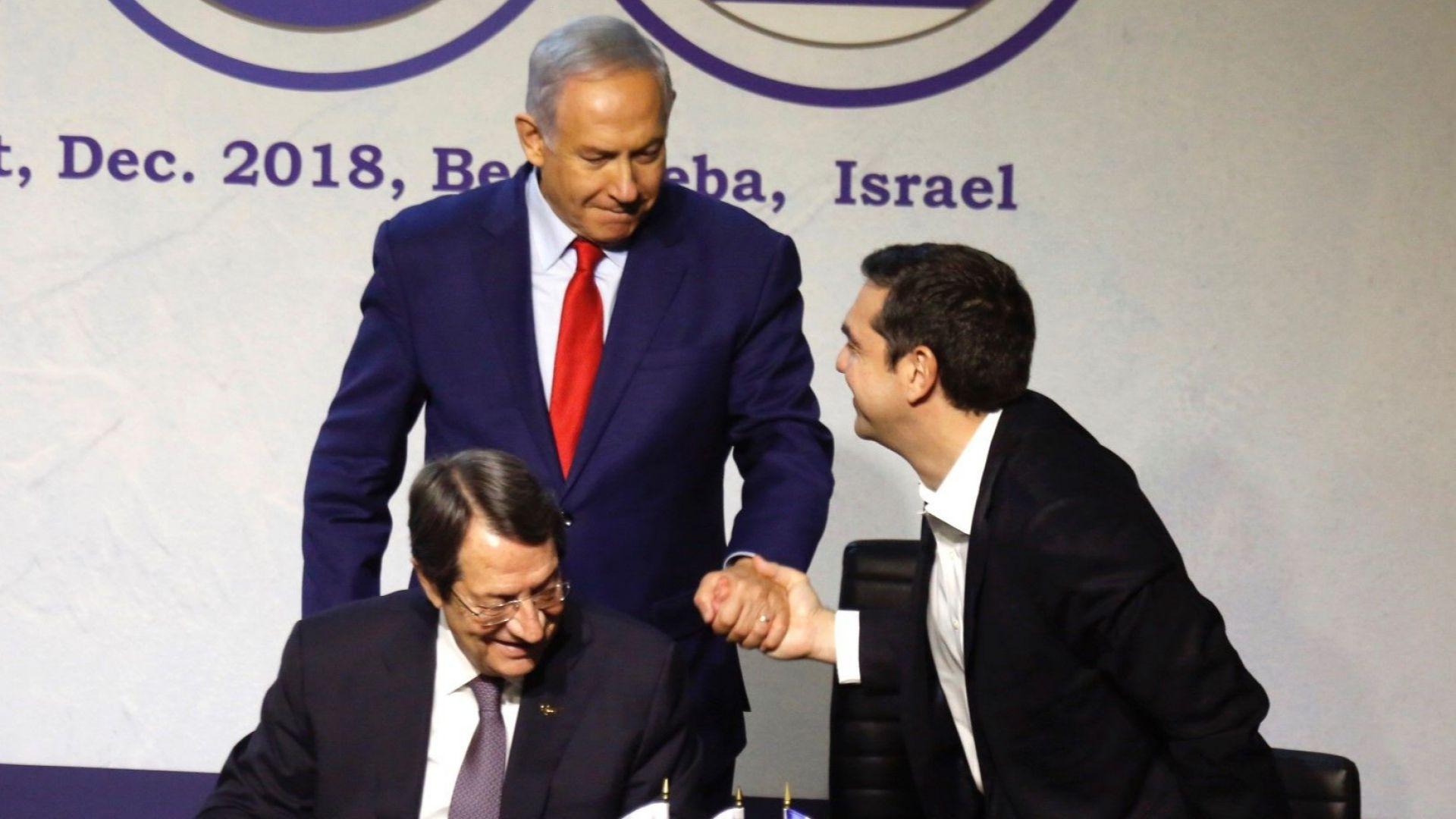Източносредиземноморския газопровод беше сред основните теми на тристранната среща на върха
