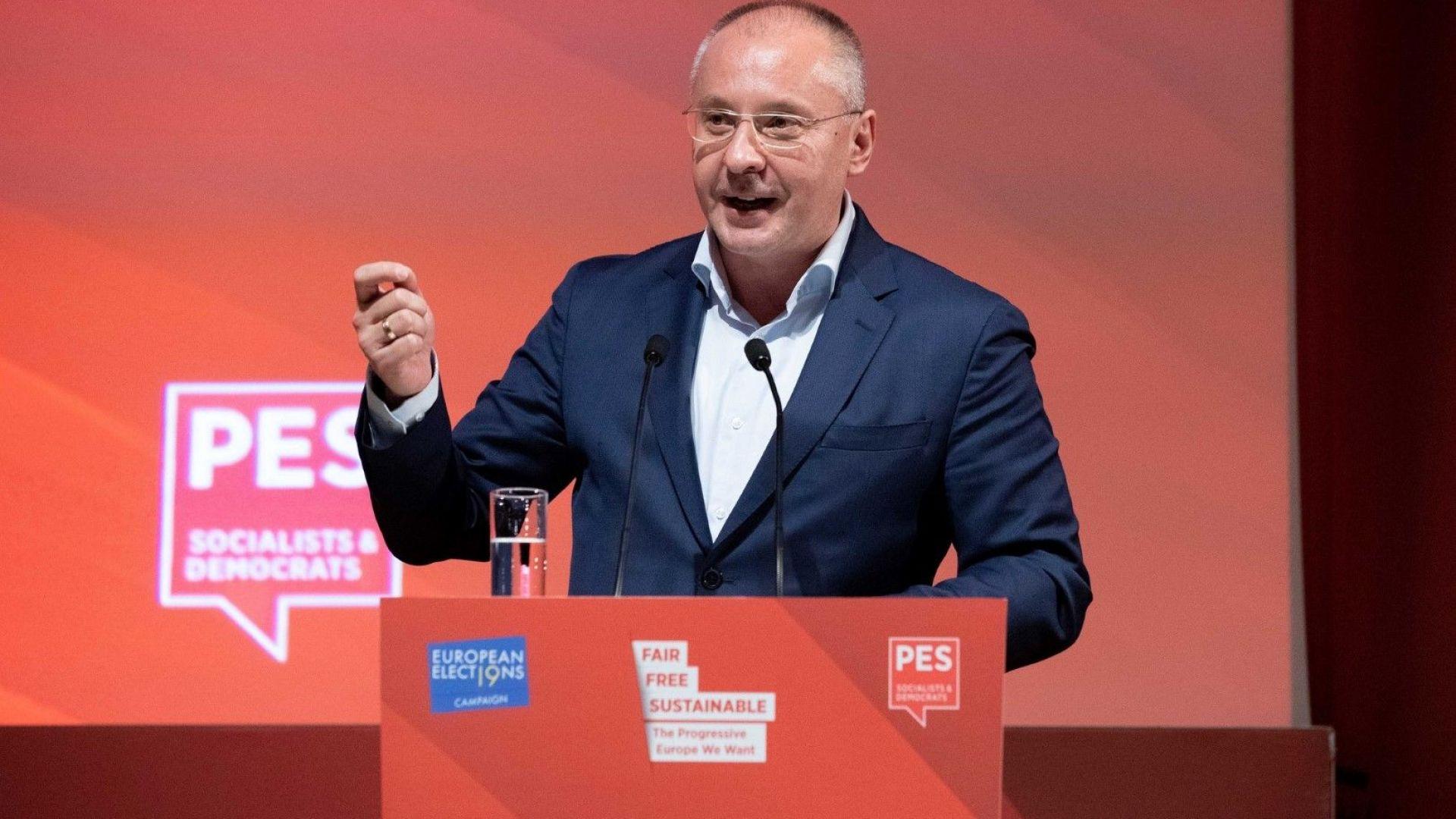 Станишев: Евроизборите не са предрешени, те са за оцеляването на Европа