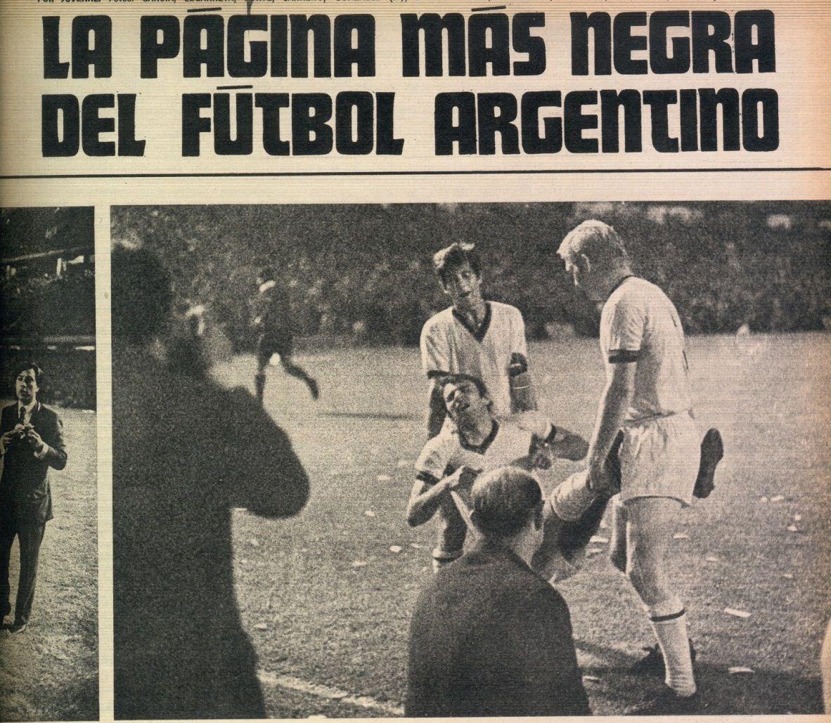 Срам за аржентинския футбол