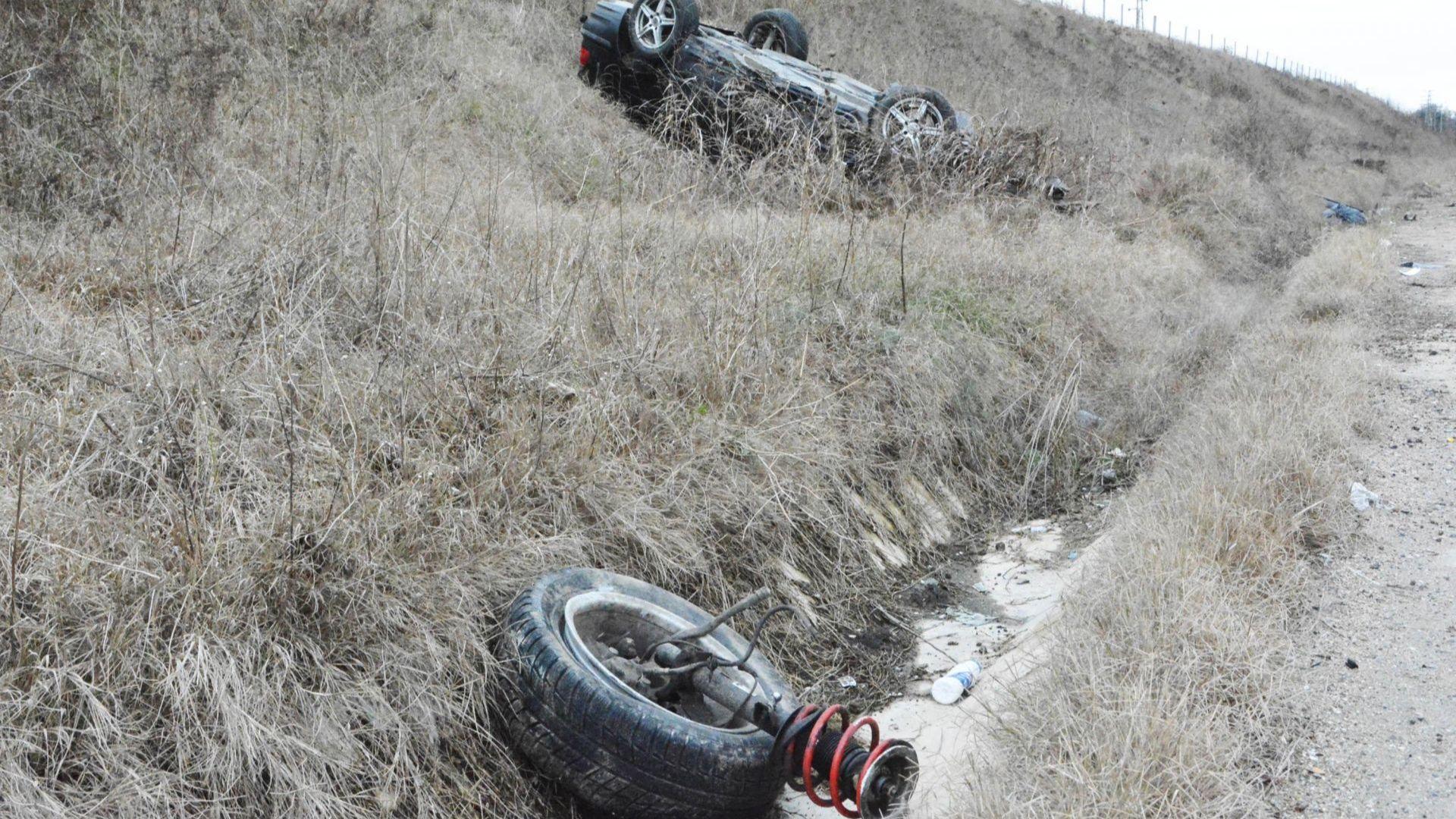 Черна Коледа край Пазарджик: Петима загинаха заради неопесъчен път