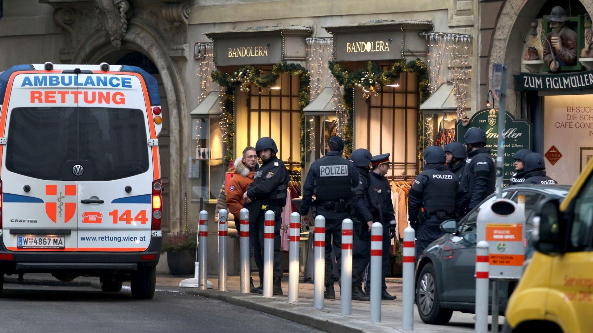 Член на мафиотски клан от Черна гора е убит при стрелбата във Виена