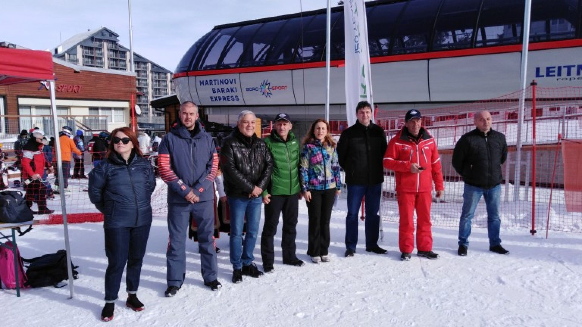 Вицепремиерът Марияна Николова откри нов лифт на Боровец