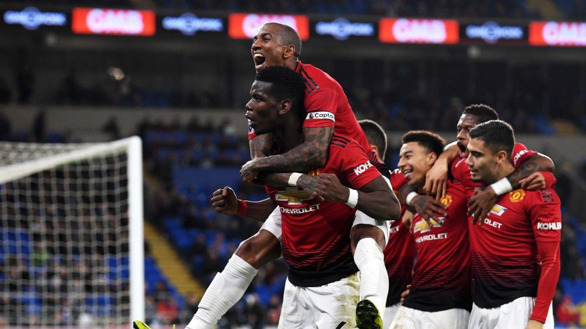 Манчестър Юнайтед напомни за същността си!