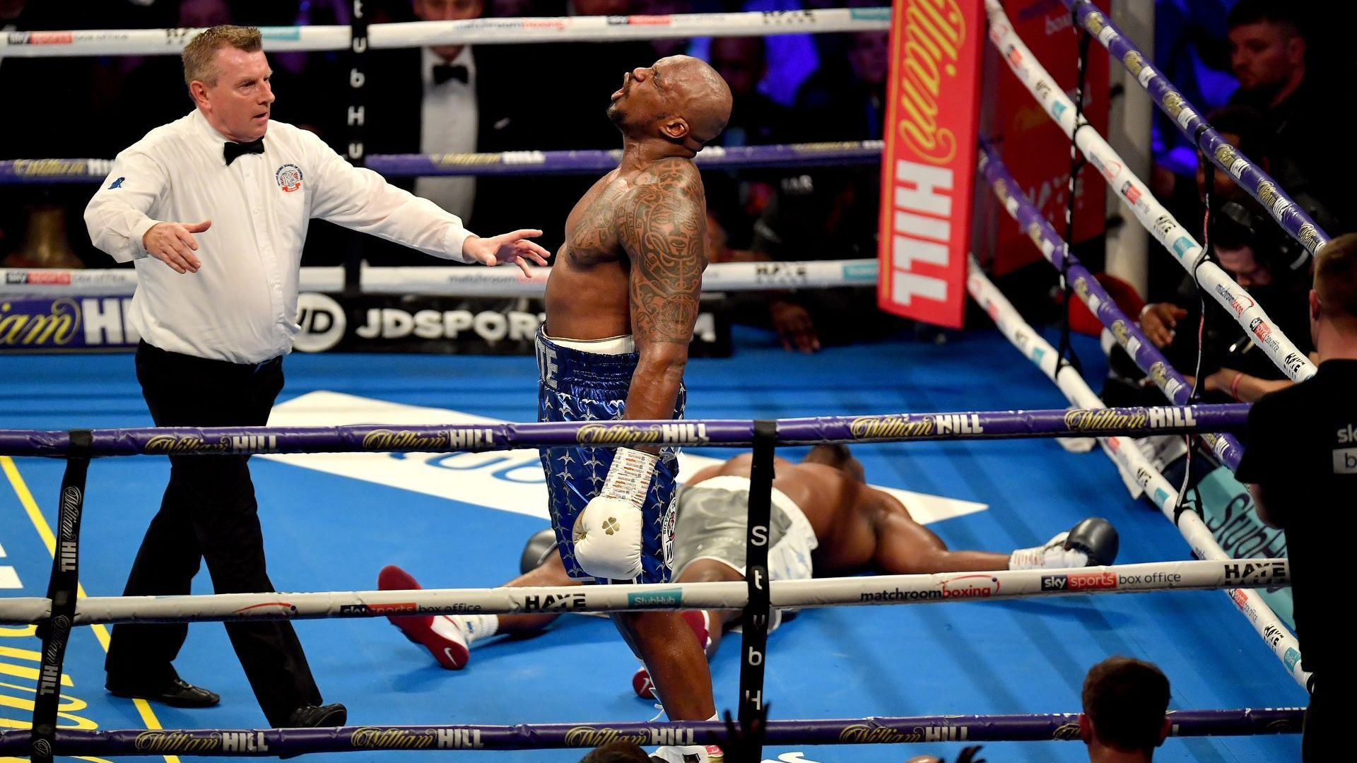 Джошуа се качи на ринга след брутален нокаут и назова следващите си опоненти