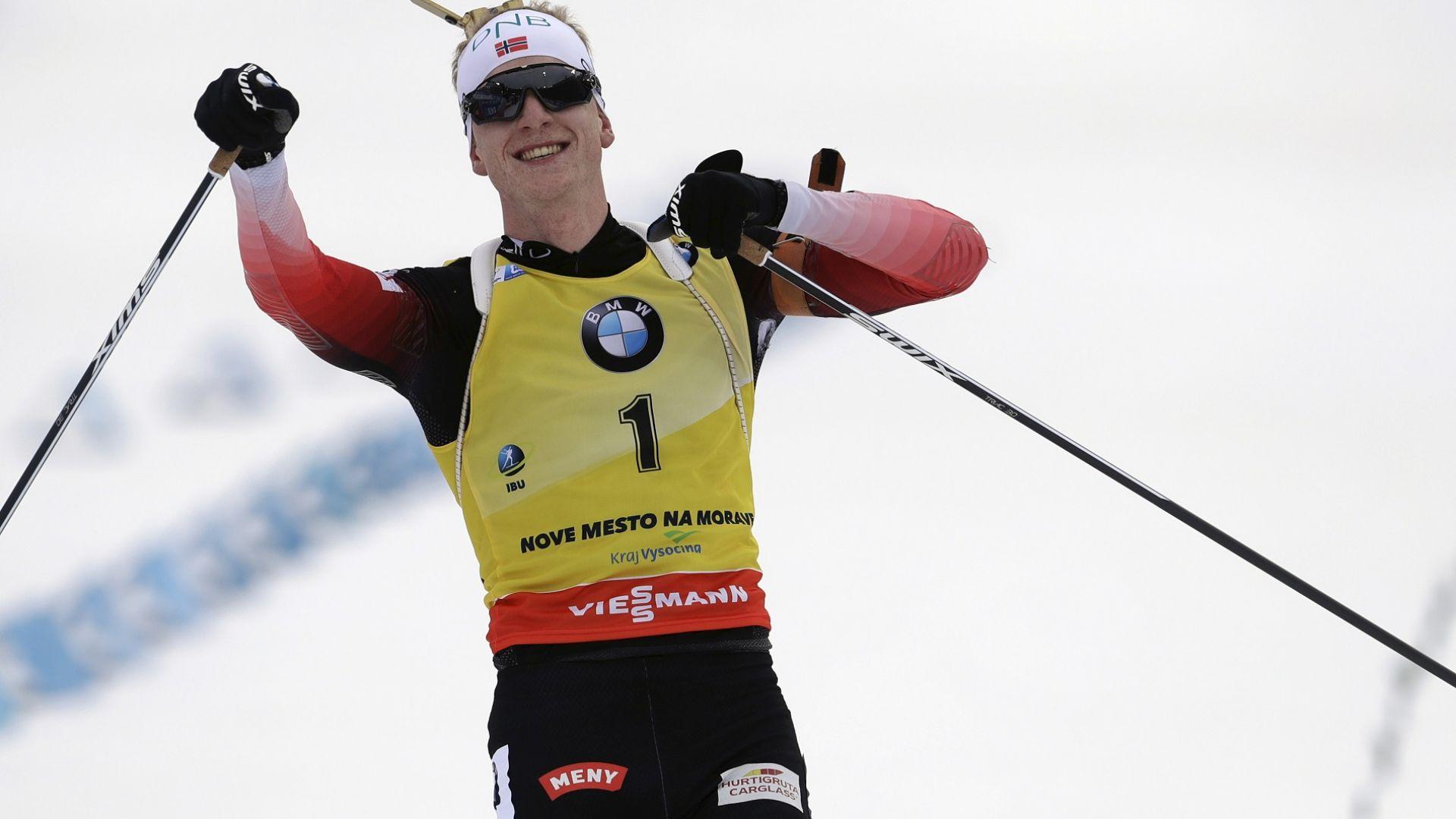 Йоханес Бьо няма спирка, спечели трета поредна победа в Нове место