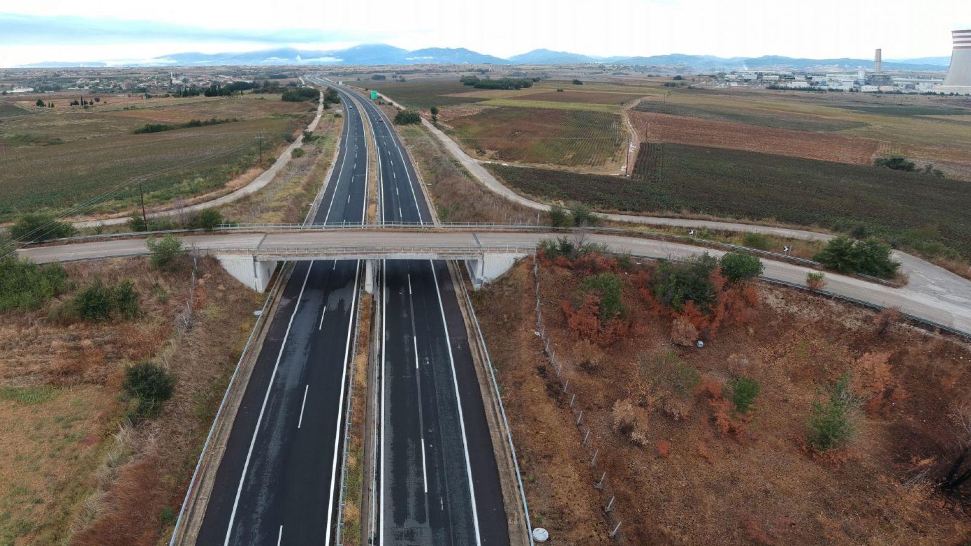 Отложиха увеличението на пътните такси в Северна Гърция