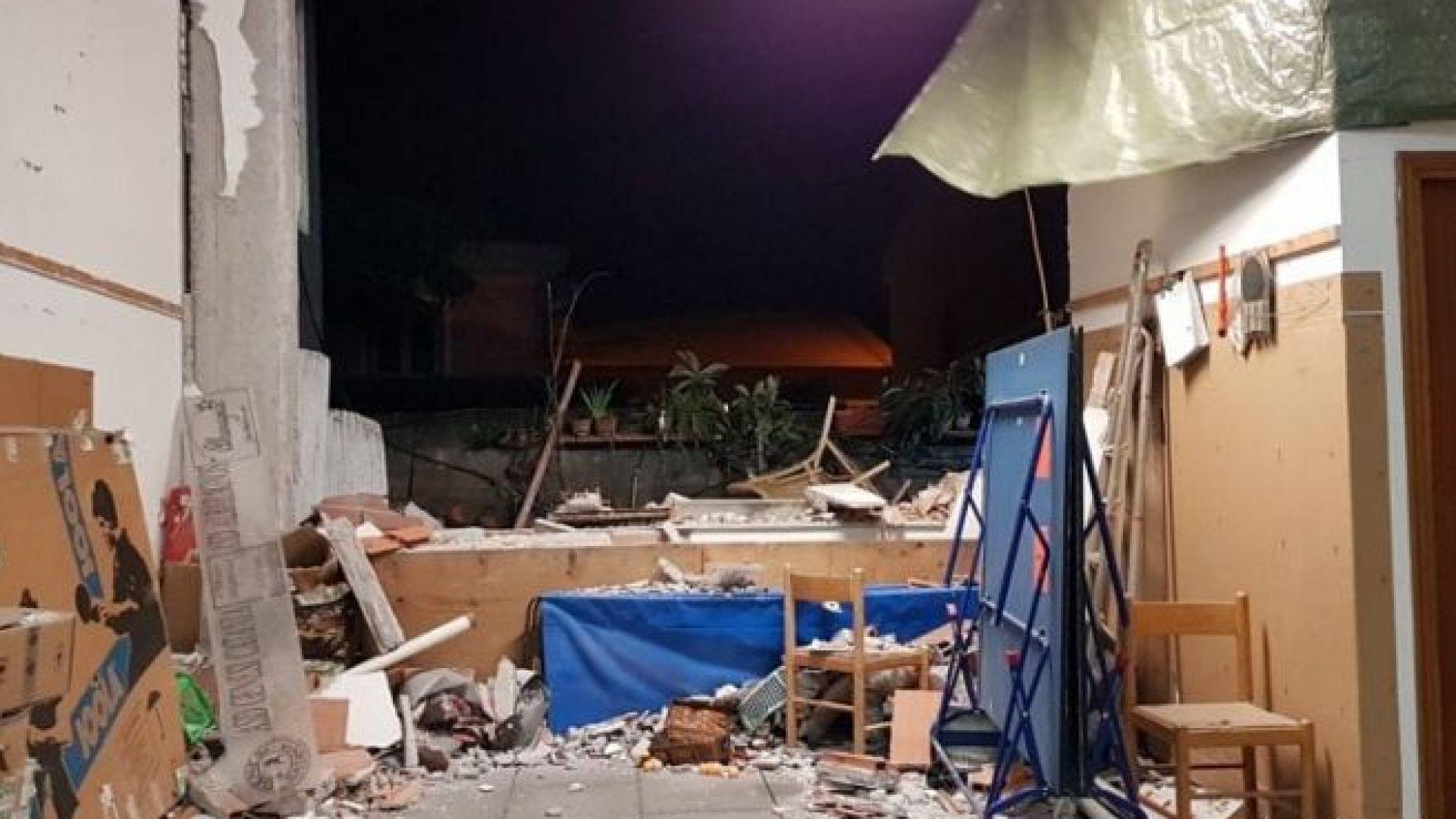 Четири души са ранени от труса в Сицилия, повредена е магистрала
