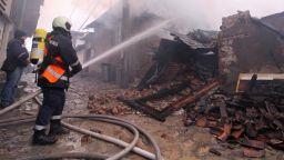 Семейство остана без дом за празниците след пожар в Бургас