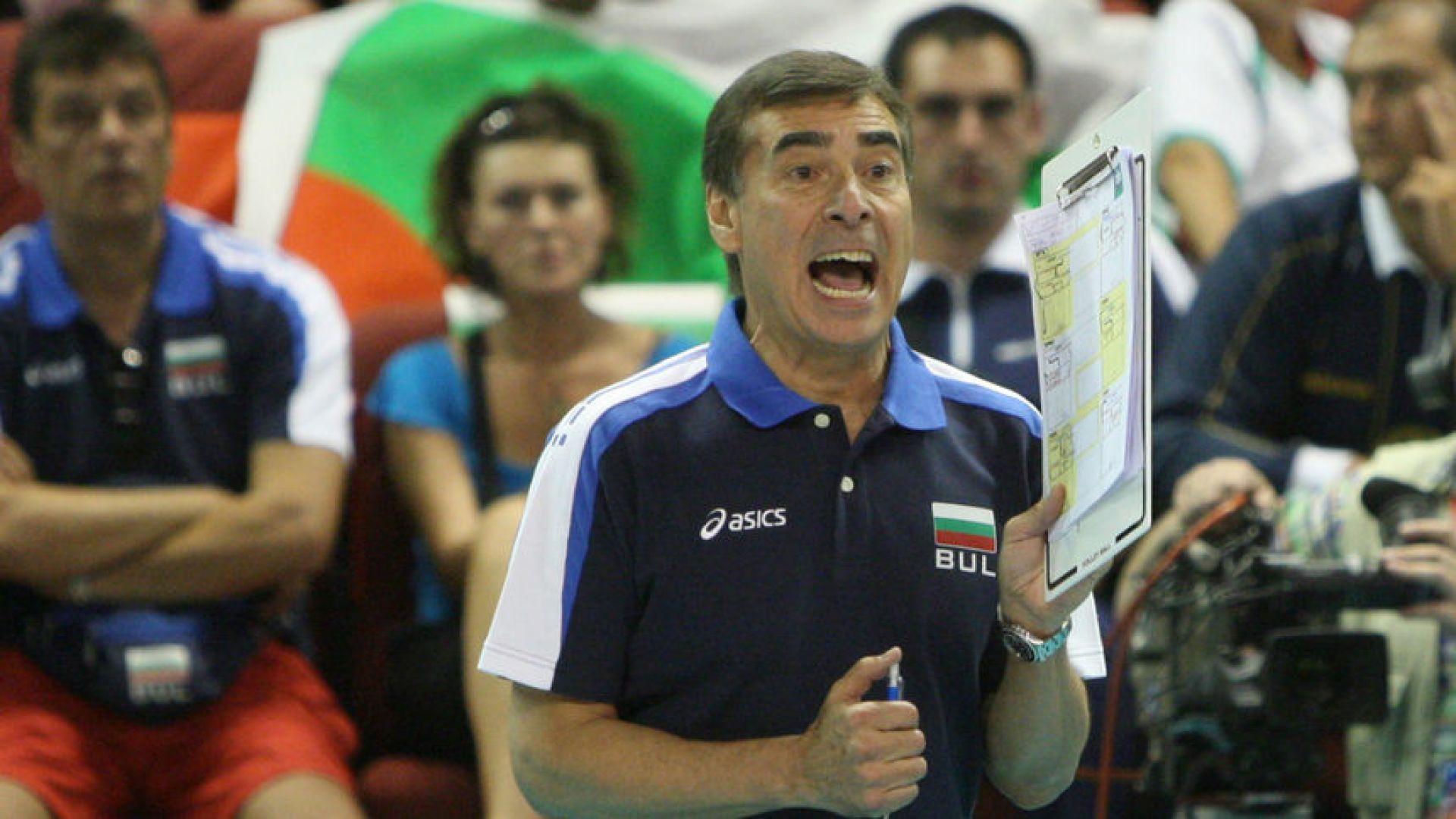 Пранди обяви състава на България за старта в Лигата на нациите