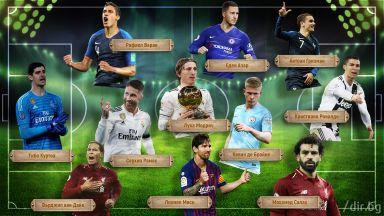 Идеалният отбор на 2018 г.