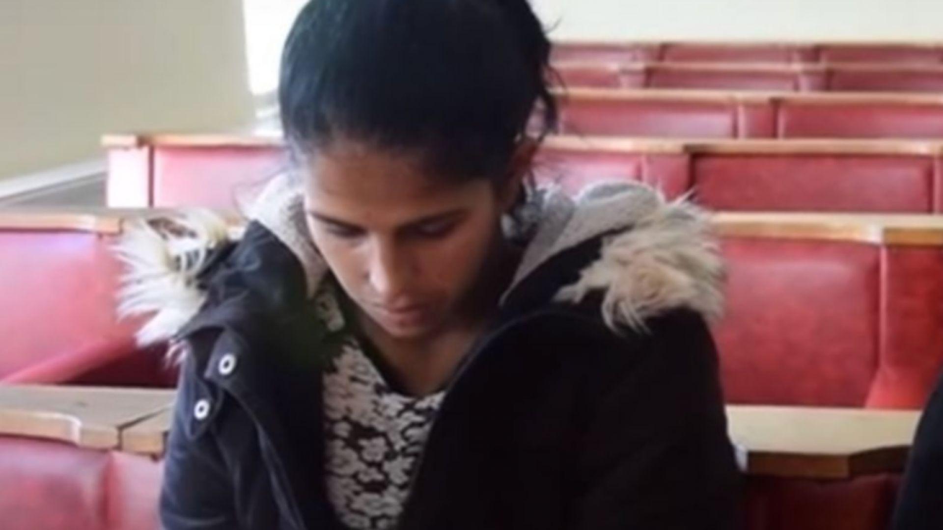 Джеврие, която уби бебето си, се прибира вкъщи