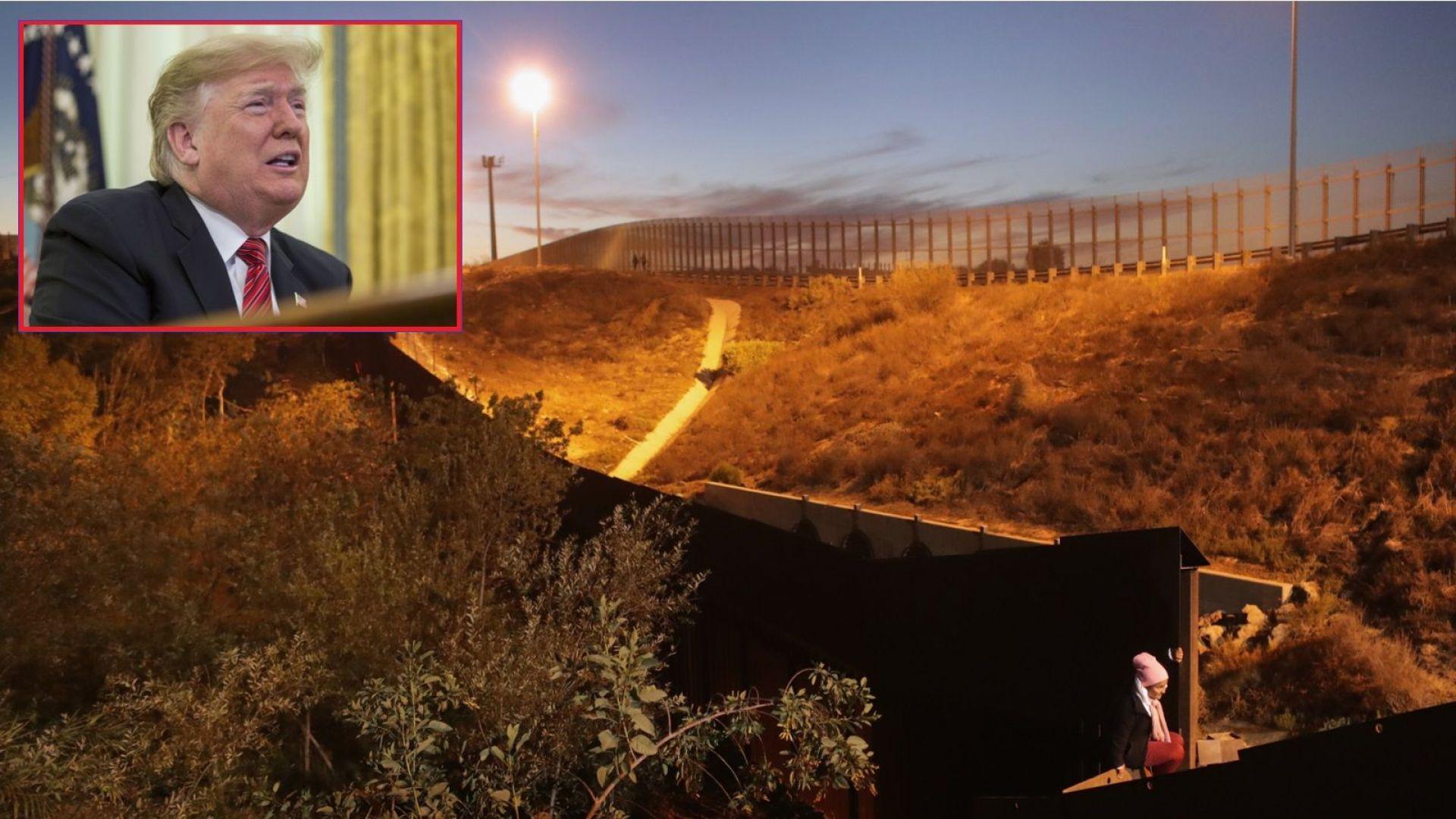 Тръмп заплаши да затвори границата с Мексико