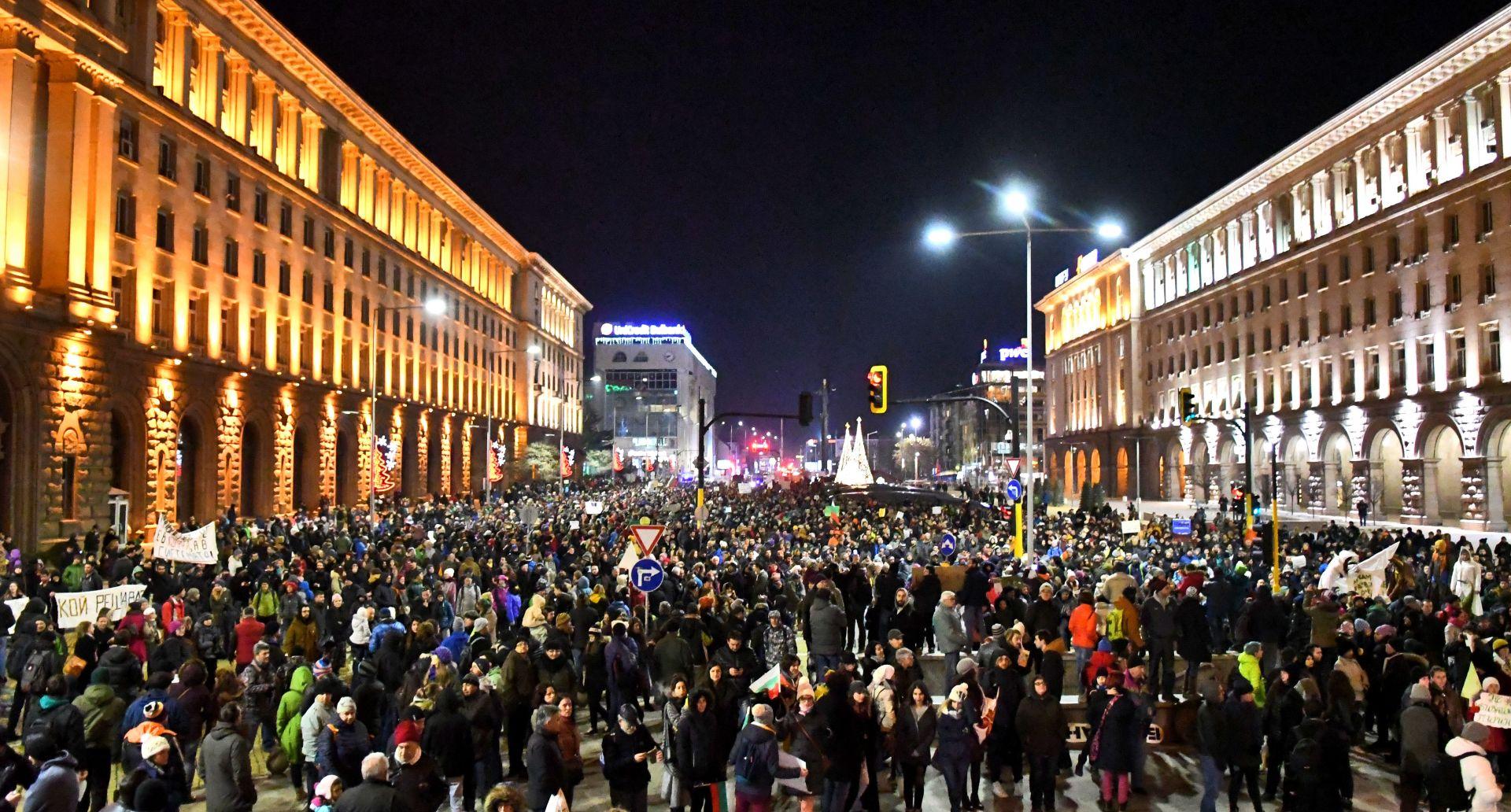 Хиляди протестираха в началото на годината срещу втория лифт в Банско
