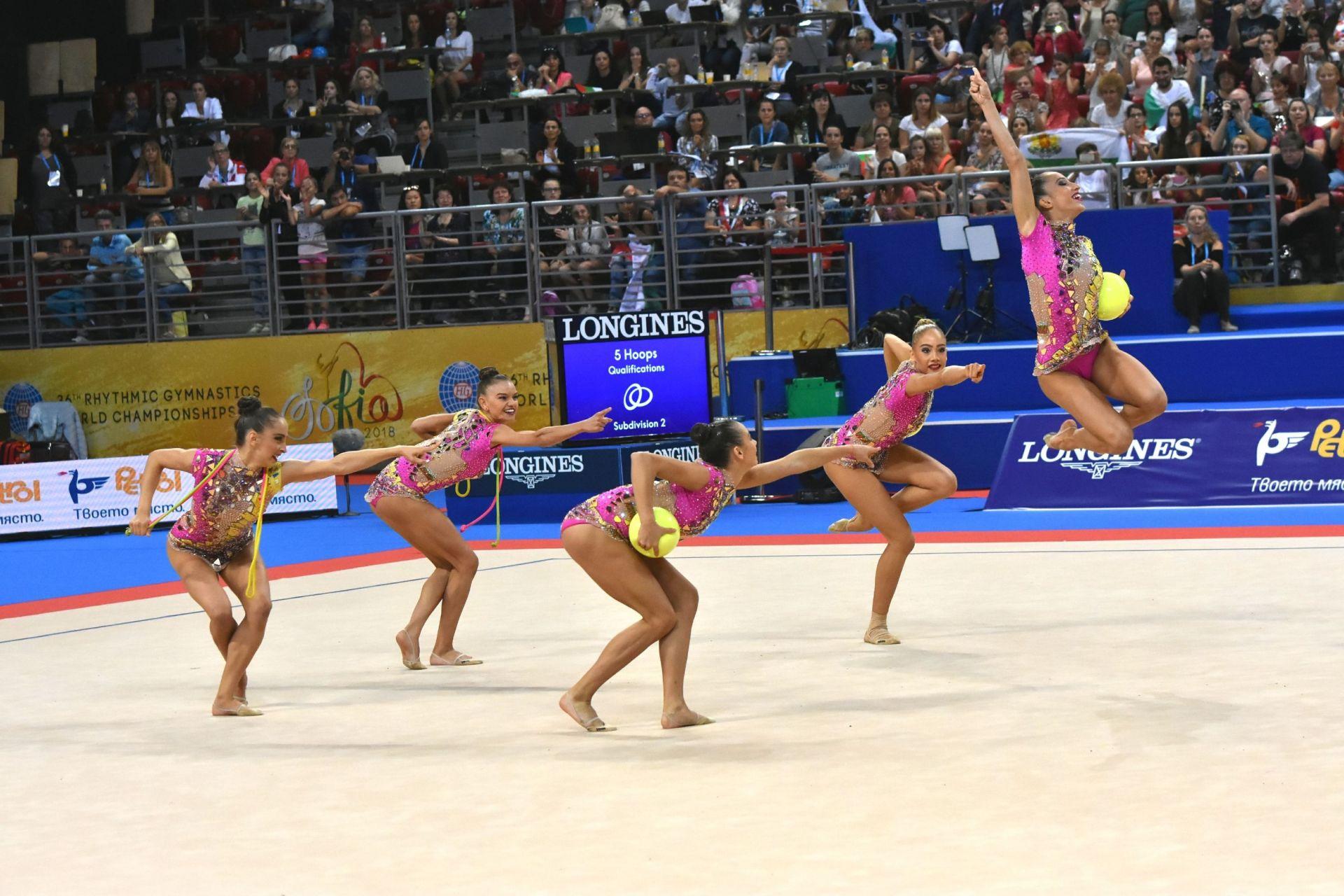 Националният ни ансамбъл по художествена гимнастика отново се сдоби със злато през 2018 гимнастика бе едно от големите събития у нас за годината.