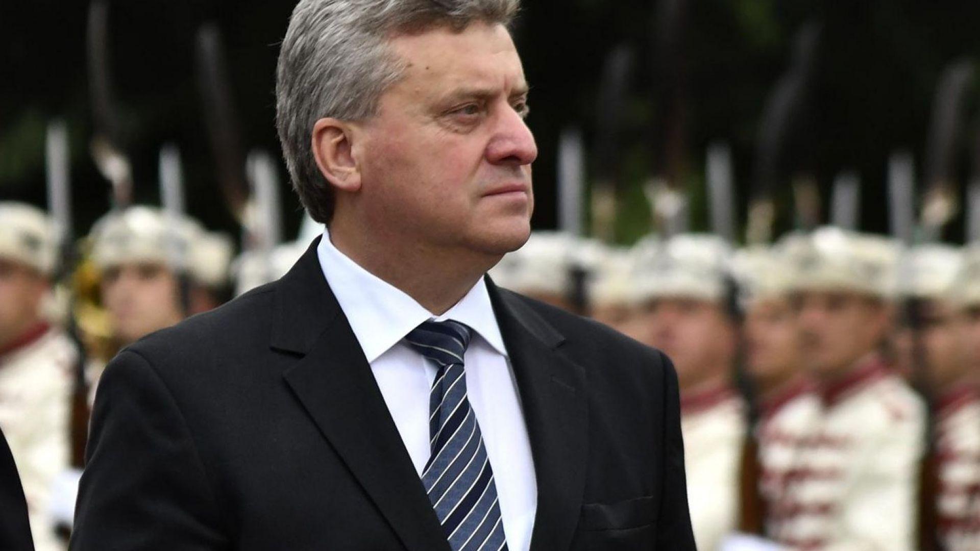 Кабинетът в Македония: Президентът не може да ни попречи за ЕС и НАТО