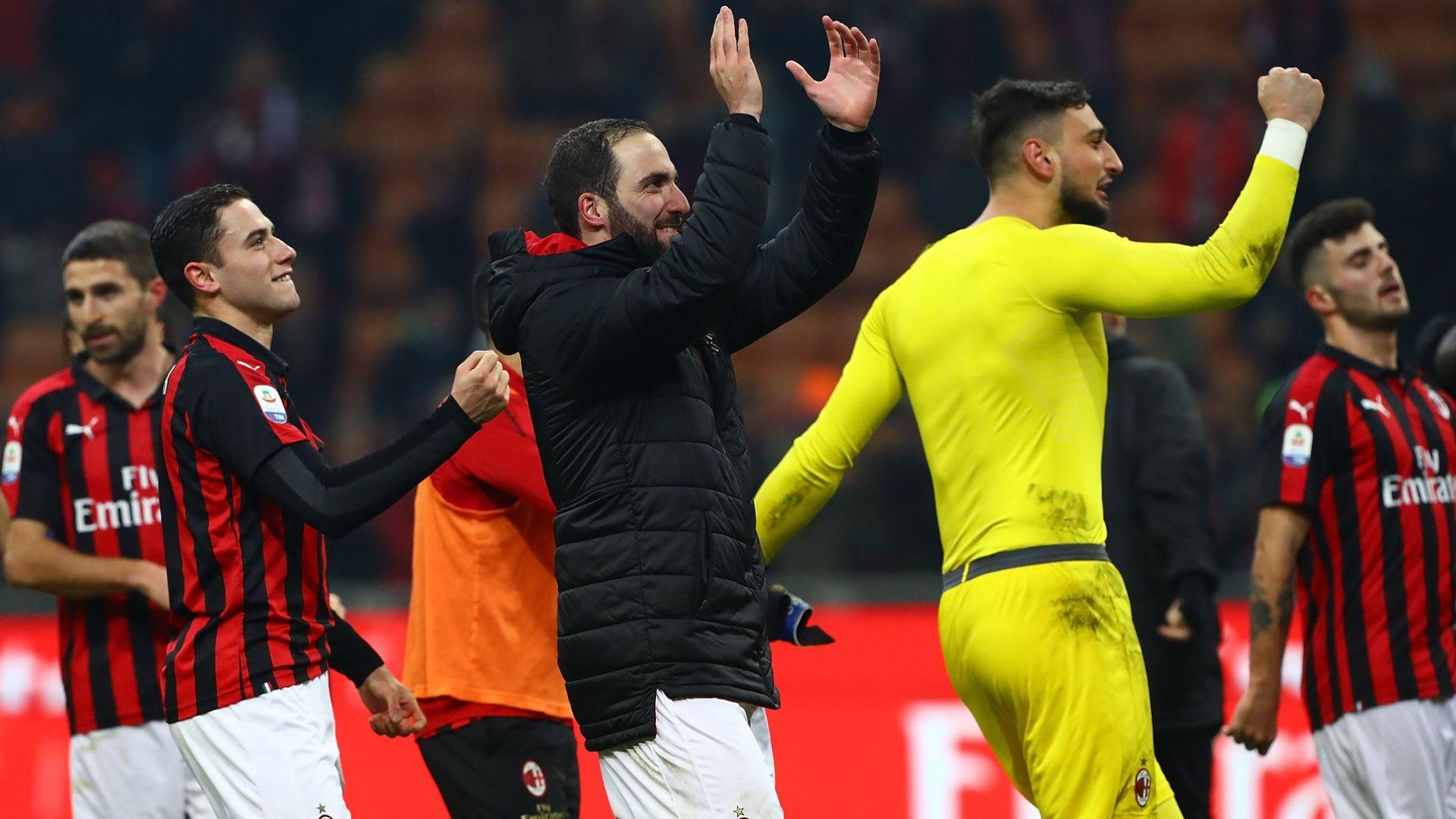 Игуаин се отпуши и донесе радост на Милан