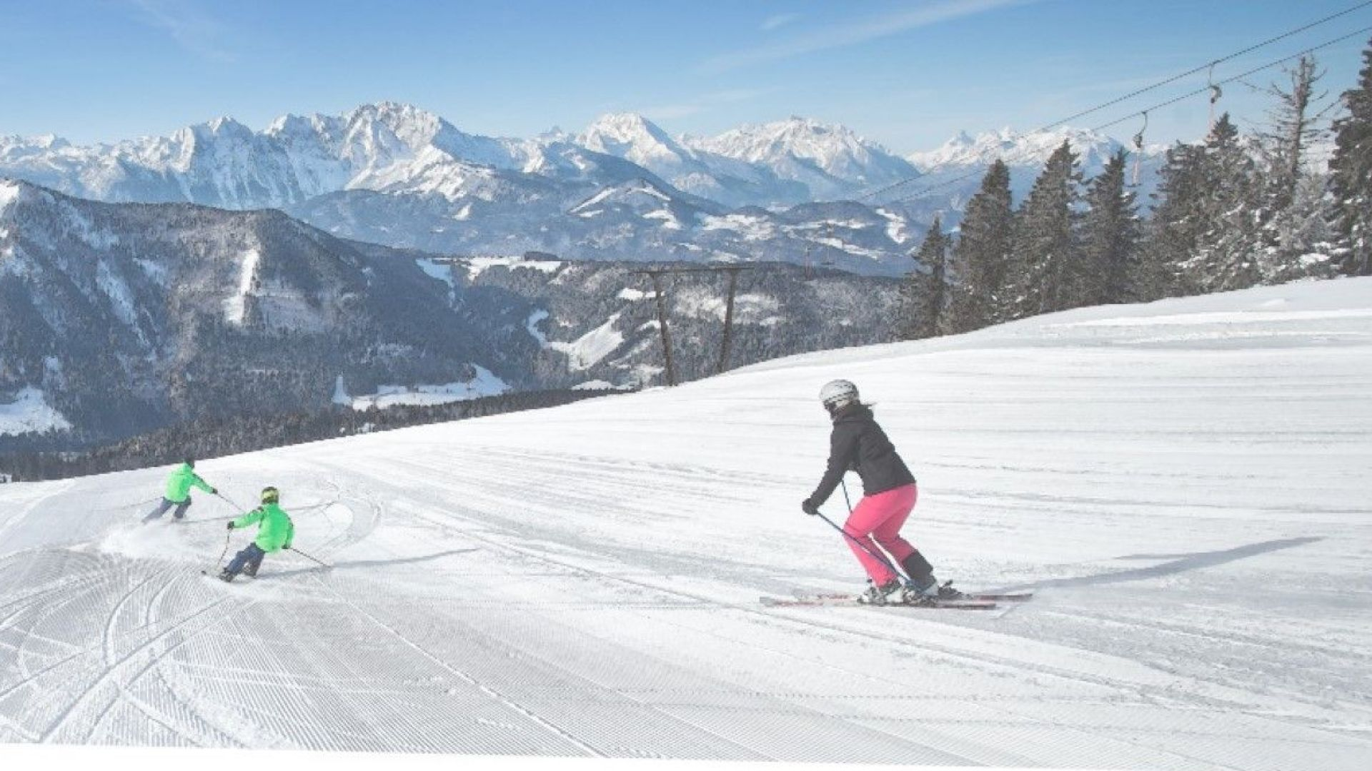 Защо австрийски ски курорт остана с неработещи лифтове