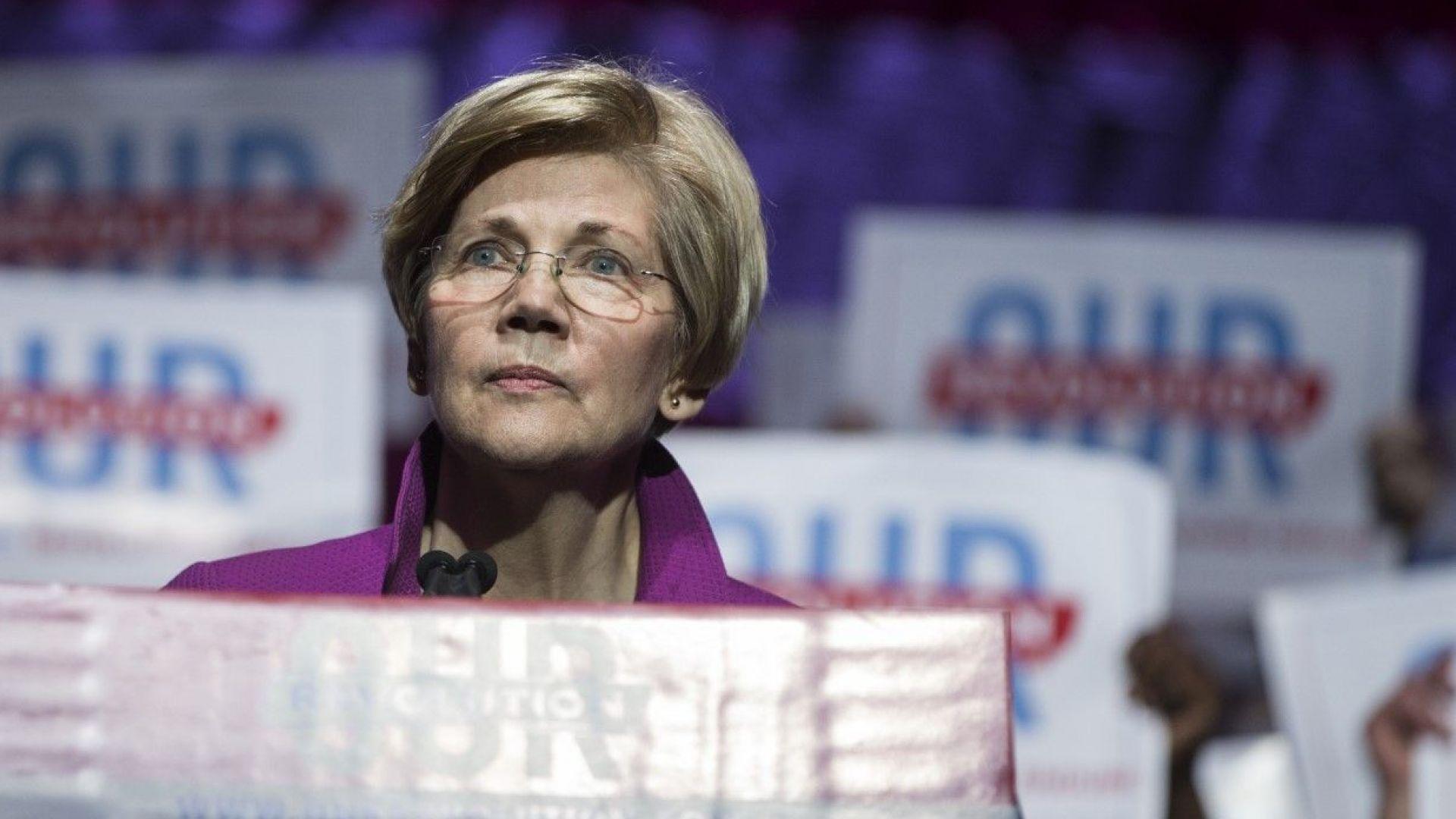 Сенаторът демократ Елизабет Уорън се запъти към Белия дом