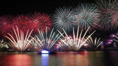 След Океания и Азия посрещна Нова година