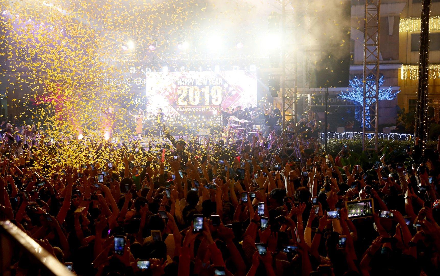 Посрещане на новта година в Манила, Филипините