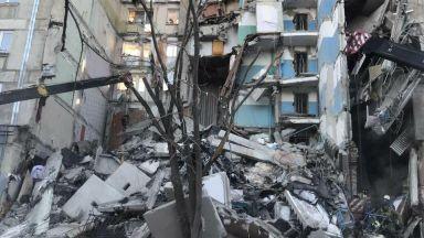 Шест деца са сред жертвите на рухналия блок в Магнитогорск