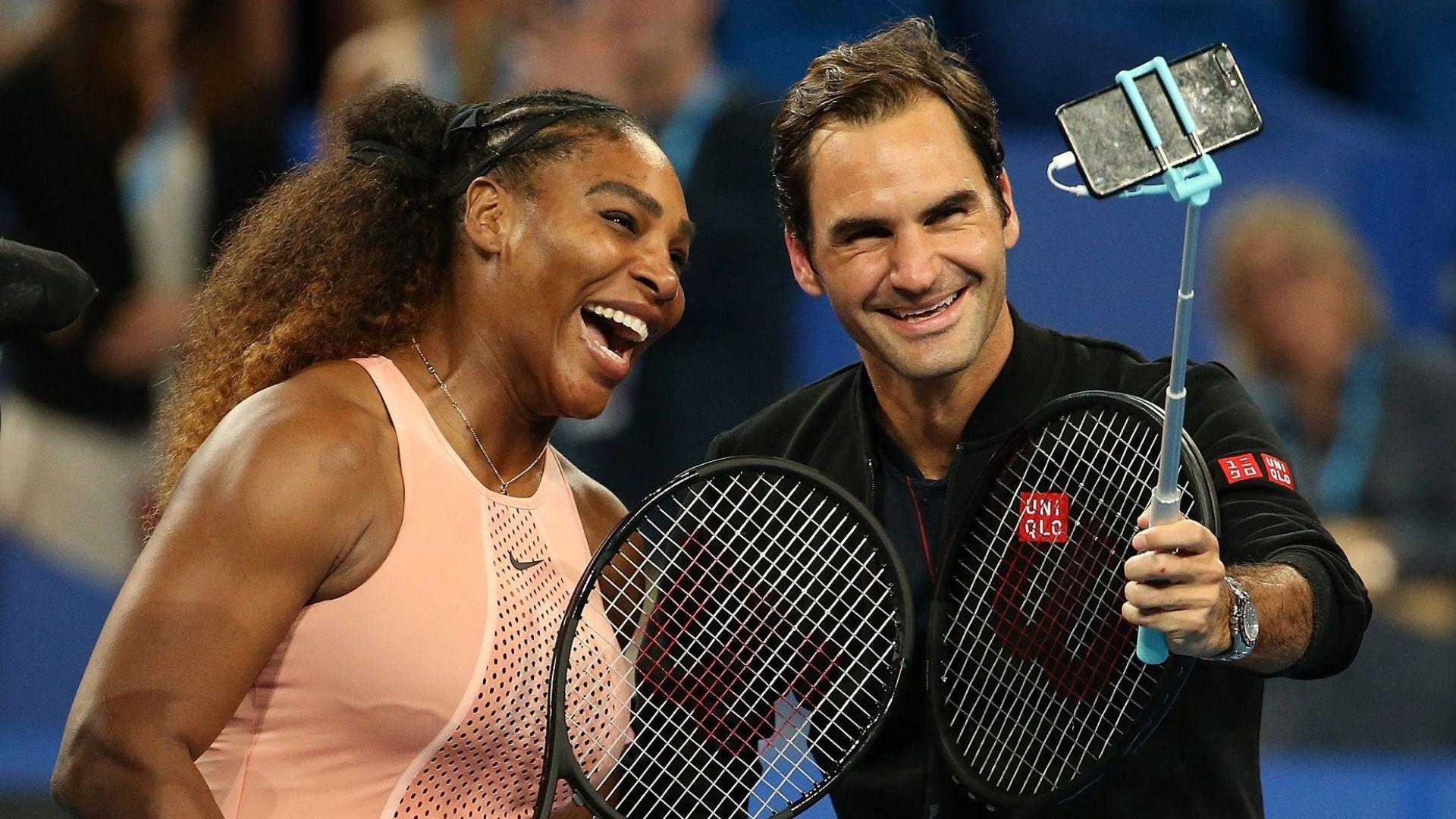 Шоу и швейцарски триумф  в историческия мач между Федерер и Серина