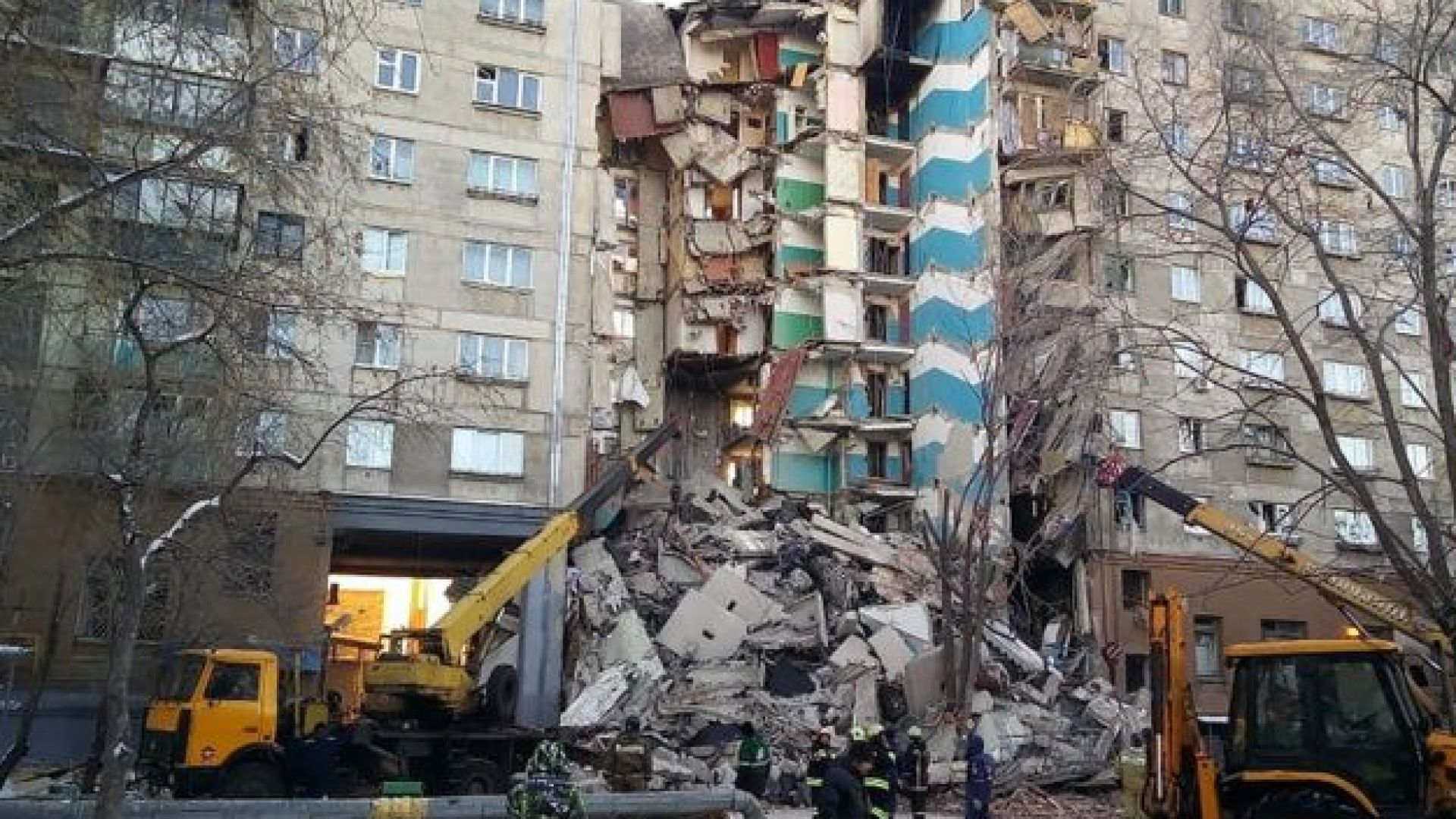 Броят на жертвите в Магнитогорск достигна 11, включително едно дете