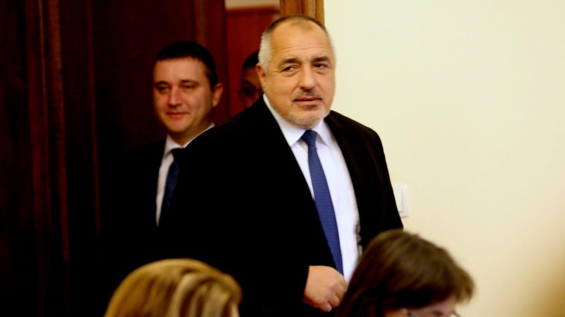 Премиерът Бойко Борисов лансира днес в Народното събрание идеята за
