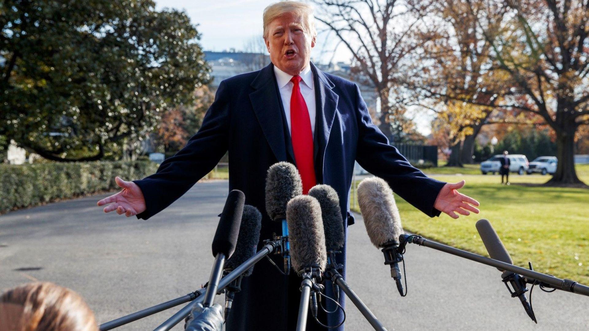 Тръмп готов за извънредно положение и стена без одобрението на Конгреса