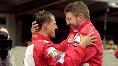 """Приятелят Рос Браун представи Шумахер, """"когото не познаваме"""", в документален филм"""