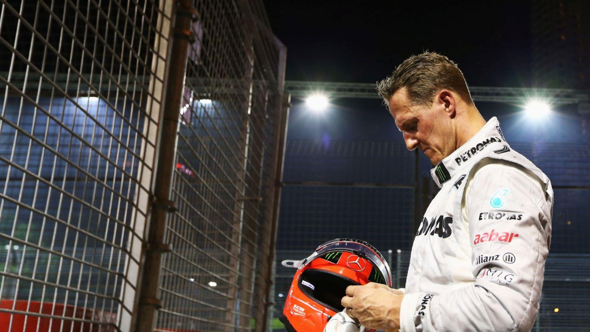 Подлагат Шумахер на нова операция със стволови клетки