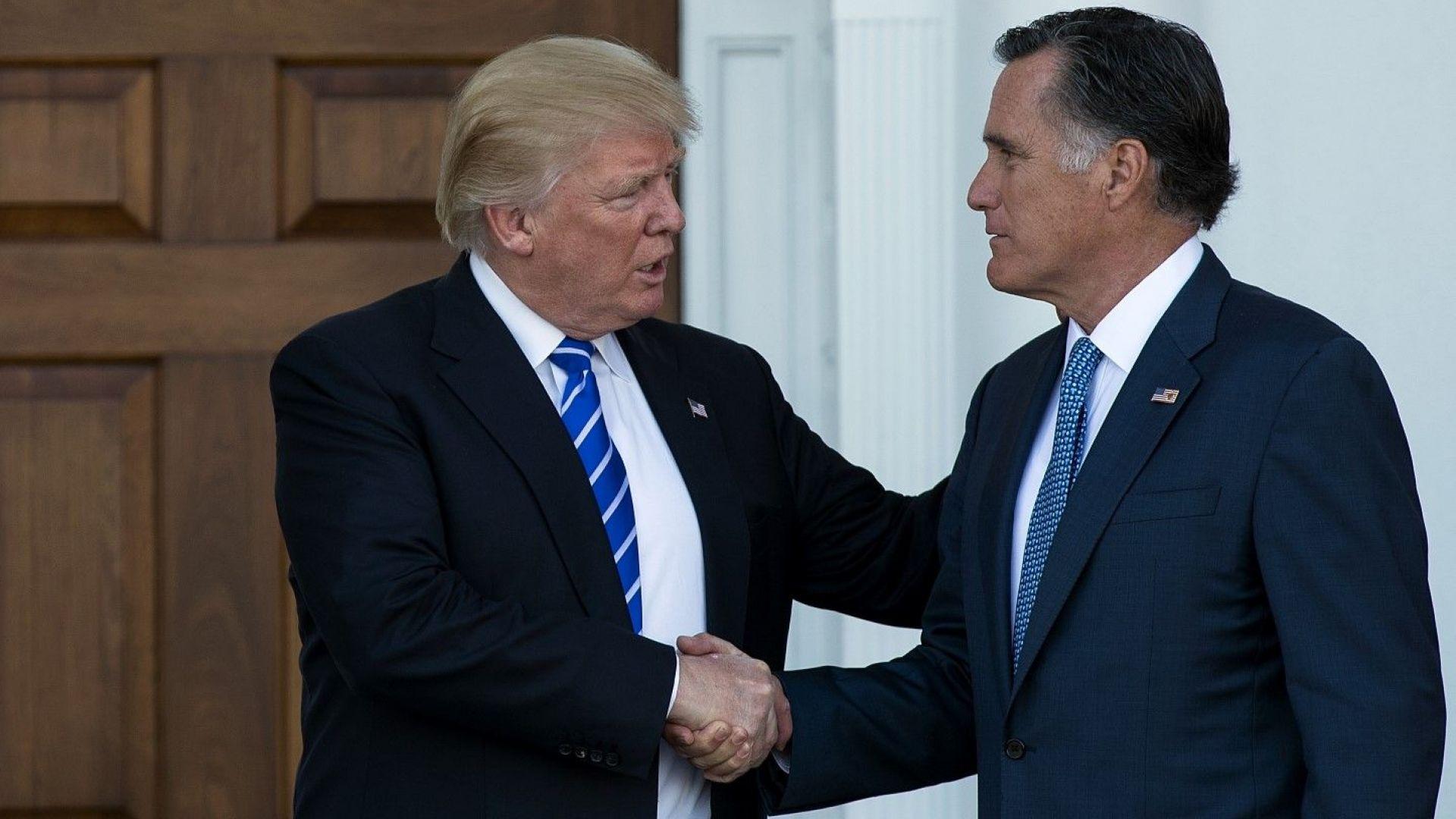 Тръмп буди тревога по света, заяви Мит Ромни