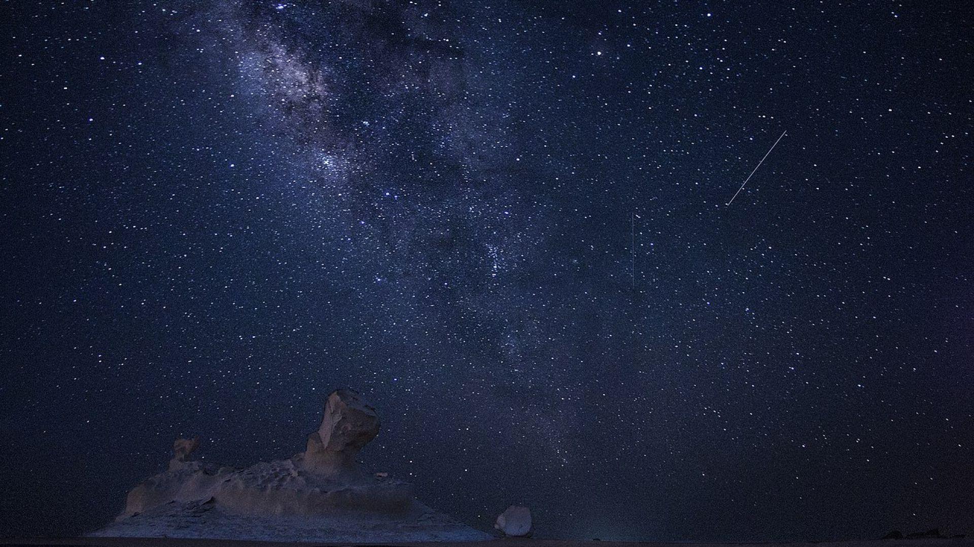 Предстои пикът на метеорния поток Квадрантиди