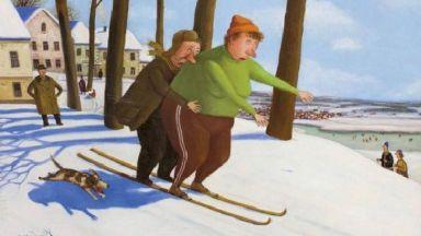 Веселата зима на Валентин Губарев