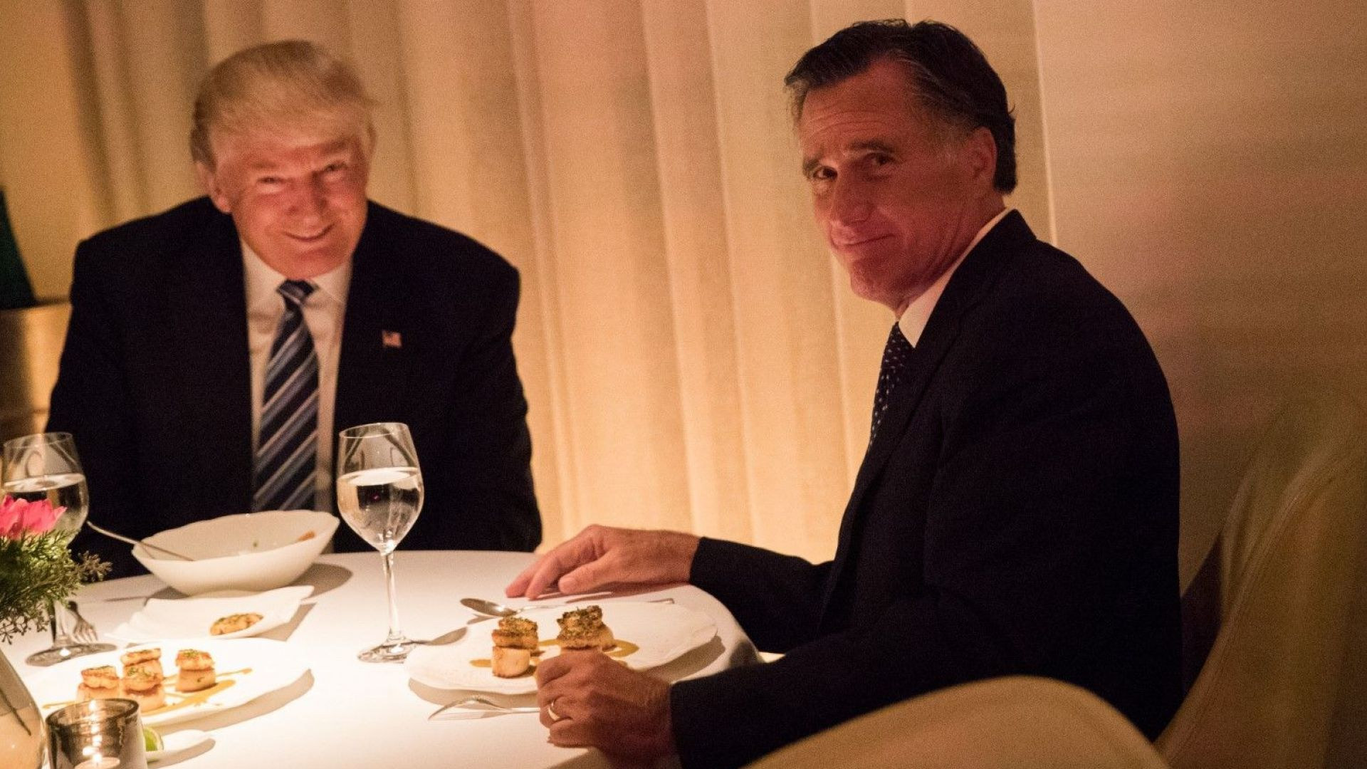 Тръмп пренебрегна атаката на Мит Ромни