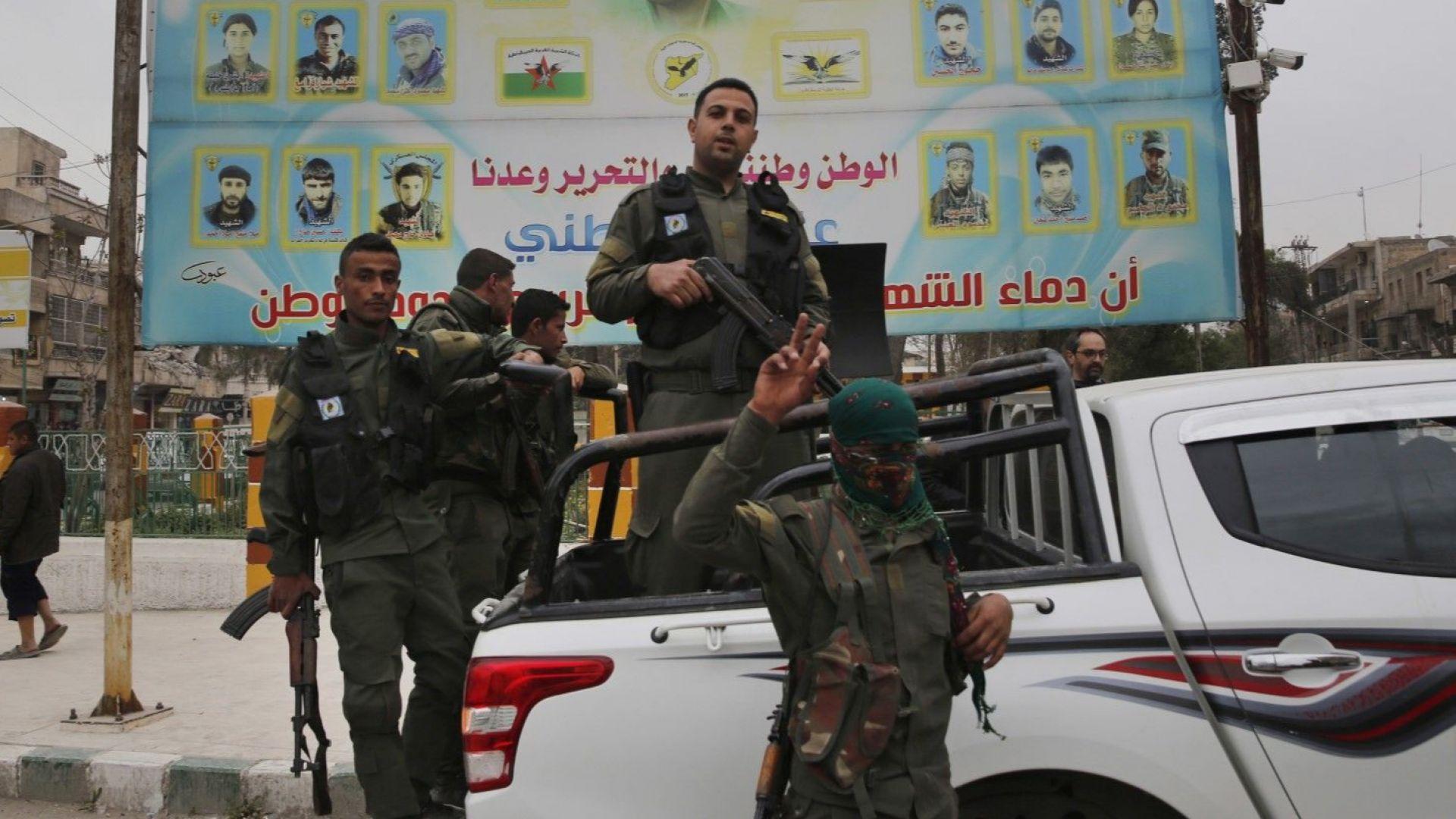 400 кюрдски бойци напуснаха Манбидж, обяви сирийската армия