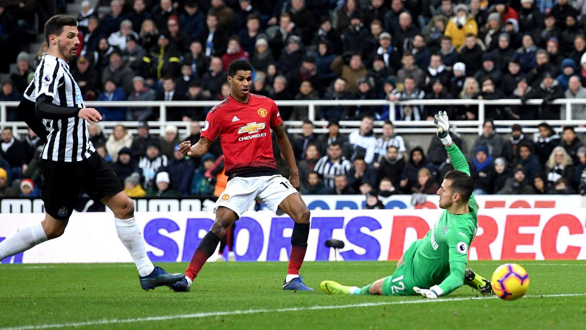 Талантът на Рашфорд открадна точките за Манчестър Юнайтед (резултати)